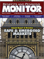 Benefits and Pension Monitor June 2005