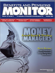 Benefits and Pension Monitor October 2004
