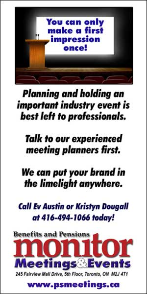 Call Ev Austin or Kristyn Dougall at 416-494-1066 to arrange Meetings & Events